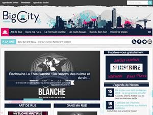 BigCityLife - Création identité graphique et Blog