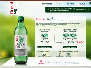 DonatMg - Création site e-commerce