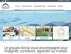 Groupe Aircia - Identité et Site internet