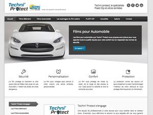 Techni' Protect - Création site vitrine