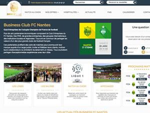 FC Nantes Business : Stratégie digitale et site vitrine