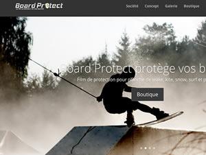 BoardProtect - Création de site e-commerce