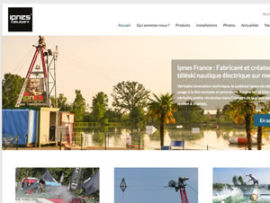 Ipnes CablePark France - Site Vitrine